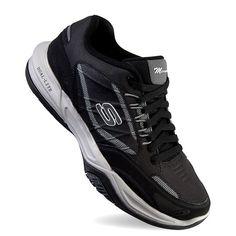Skechers Monaco TR Swift Step Men's Training Shoes, Size: 8 Xw, Dark Grey