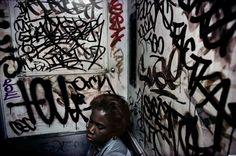 Photo: Bruce Davidson (Magnum) Reminds me of place at kingsland :)
