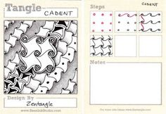 BEEZ in the Belfry: Tangle of the Week- Cadent