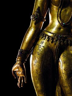 "artemisdreaming: Gilt-Copper Figure of Tara Nepalese, Century keehuachee From Wiki: ""Tara (Sanskrit: तारा, tārā; སྒྲོལ་མ་, Drolma) or Ārya Tārā, also known as Jetsun Dolma (Tibetan. Tibetan Buddhism, Buddhist Art, Sacred Feminine, Divine Feminine, Tarot, Vajrayana Buddhism, Samurai, Templer, Goddess Art"