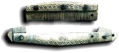 Viking Man's Comb with Comb Case
