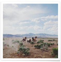 Running Horses - Kevin Russ - Premium Poster