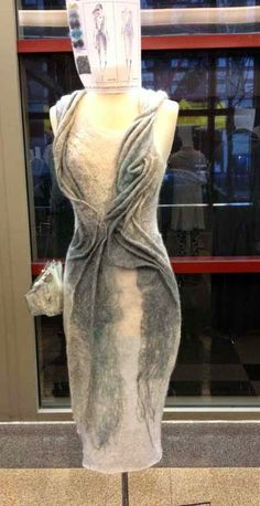 knitGrandeur: FIT Future of Fashion Judging Day 2014 - Knitwear Felt??