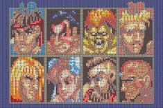 Sprite Stitch Board! • View topic - Street Fighter II Cast