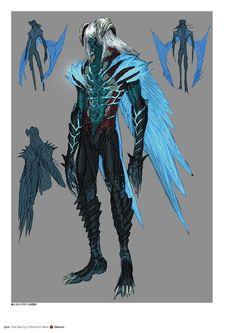 Devil May Cry 5 Official Art Works Fantasy Character Design, Character Concept, Character Art, Alien Concept Art, Armor Concept, High Fantasy, Fantasy Art, Angel Protector, Armadura Medieval