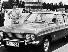 Jackie Stewart y Emerson Fittipaldi (© PA) FORD CAPRI RS 2600 EN 1973
