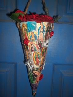 Our Lady Guadalupe Boquet by JennyClay by jennyclay on Etsy, $20.00