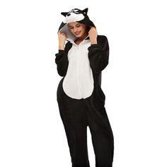 Black 3D Huskie Soft Plush Halloween Costume Girls Pajamas – alfagoody Adult Pajamas, Animal Pajamas, Onesie Pajamas, Girls Pajamas, Halloween Costumes For Girls, Christmas Costumes, Girl Costumes, Costume Halloween, Cute Onesies
