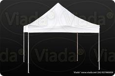 Carpa plegable color blanco 4x4 gama Enduro #carpa #carpaplegable #carpaplegablebarata http://viada.net/tienda/