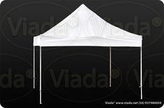 Carpa plegable color blanco 4x4 gama Enduro #carpa #carpaplegable #carpaplegablebarata http://viada.net/tienda/
