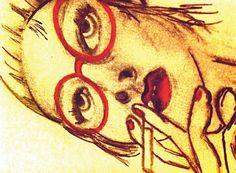 Red & smoking Red Smoke, Smoking, Goodies, Artsy, Paintings, Illustrations, Artwork, Inspiration, Design