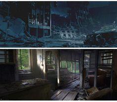 The Last of Us, por Maciej Kuciara | THECAB - The Concept Art Blog