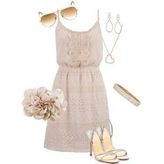 Summer Wedding Guest Style by nycfashionista on Polyvore