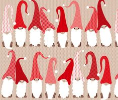 Gnome-Scandinavian-Christmas-Winter-Fabric-Printed-by-Spoonflower-BTY