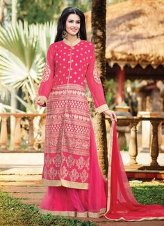 http://www.sareebuzz.in/lehenga-choli/glowing-pink-embroidery-work-wedding-lehenga-choli-6039  Glowing Pink Embroidery Work Wedding Lehenga Choli  Color : Hot Pink  Occasion : Ceremonial Reception  Fabric : Georgette  Work : Embroidered Resham Item Code: : 6039   For Inquiry Or Any Query Related To Product, Contact :- +91 9974 111 222