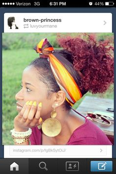 ... on Pinterest Natural hair, Style icons and Long natural hair
