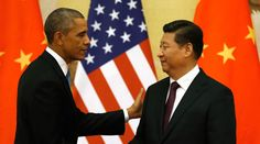 Washington tells Beijing: 'Hands off' Chinese expats wanted for corruption at home http://sumo.ly/88oI  U.S. President Barack Obama pats Chinese President Xi Jinping © Kevin Lamarque