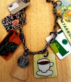 Upcycled Starbucks Bracelet