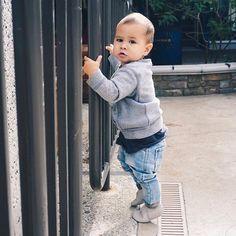 This little stud  * * * * * #EastonAmes #babyboy #mamasboy #motherhoodthroughinstagram #momlife #motherhood #igkids #instakids #cutekids #kidsfashion #zarakids #sweetnswag #momtogs #clickinmoms #letthembelittle #mylove #instafamily