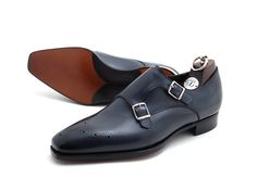 Gaziano & Girling Grosvenor - pure elegance and a definite must have for every MAN with style Boys Shoes, Me Too Shoes, Men's Shoes, Dress Shoes, Shoes Men, Men Dress, Double Monk Strap Shoes, Sell Shoes, Well Dressed Men
