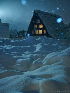 【写真旅行】僕の歩いた岐阜県 白雪舞う白川郷・五箇山の合掌造り集落の風景 : サグラのきままブログ