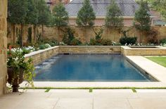 backyard raised pool | raised spa a saltwater pool raised spa and beautiful stone terrace ...