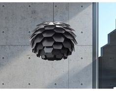 Lampa czarna - sufitowa - żyrandol - lampa wisząca - SEGRE duża