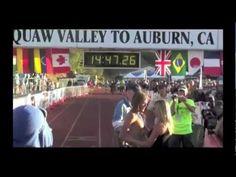 Western States 100 Mile Run 2012, Champion Timothy Olson.  Love this video!  So inspiring!!!