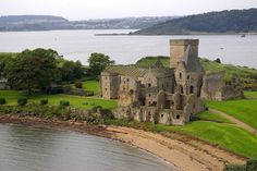 Inchcolm Abbey, founded in the 12th century, sits majestically on the island of Inchcolm in the Firth of Forth in Scotland