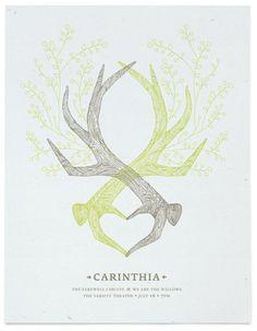 I love antlers.