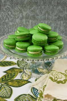 Delicious Desserts with Almonds Pistachio & Almonds Macarons