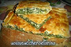 Pasta matta ricetta base per torte salate Ricotta, Romanian Food, Spanakopita, Healthy Cooking, Quiche, Buffet, Picnic, Food And Drink, Appetizers