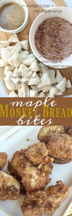 Maple Monkey Bread Bites - Together as Family
