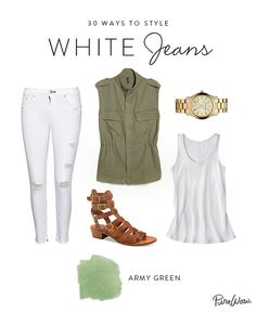 For the gal who likes to keep things simple, a military-inspired vest is a great summer take on the beloved cargo jacket. Throw on some comfy sandals and a chunky metal watch for a day exploring a new city