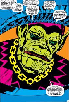 Fantastic Four #89 - damn dirty Skrull