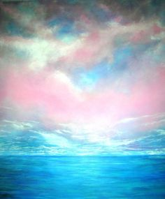 Magical Indian Ocean  Painting by Marie-Line Vasseur