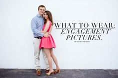 What to Wear: 8 Tips for Great Engagement Pictures