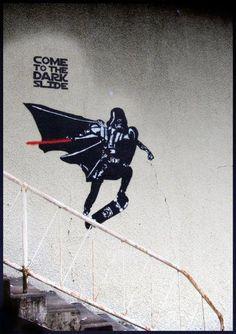 the dark slide