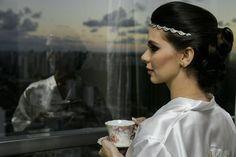 Making off da noiva no dia D para @websterjunior e @caldasnatasha  Foto direto da máquina sem tratamento