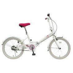 Amazon.co.jp: TOP ONE ハローキティ 折畳自転車 20インチ ホワイト FDV200-04-WH: スポーツ