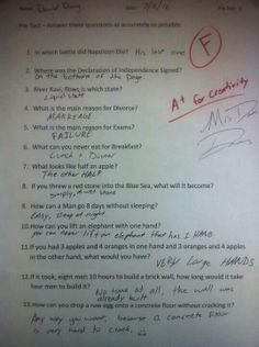 This kid is a genius!!! hahaha :)