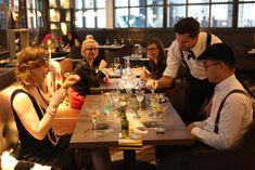 Gatsby Friday - Evenings at Renaissance Gatsby, Renaissance, Table Settings, Friday, Place Settings, Tablescapes