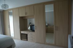 A custom fitted Moonlight Bedroom made to specification to maximise your space.  #bedroom #furniture #ideas #yorkshire