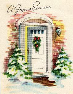 Holiday open door.