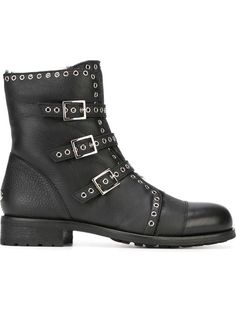 56a0bb0bfaf Shop Jimmy Choo  Darkle  boots in Vitkac from the world s best independent  boutiques at