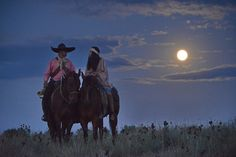 old-hopes-and-boots: Two Under Moon, by Bob Kissel