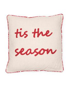 18x18 Tis The Season Pillow