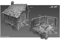 ArtStation - The Hut, Martynas Latusinskas