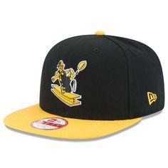 7467309e779 Pittsburgh Steelers New Era Historic Logo Baycik 9FIFTY Snapback Adjustable  Hat - Black Gold
