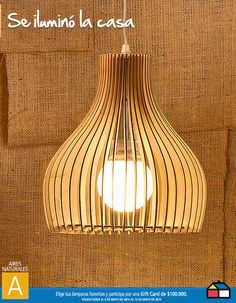 #Concurso #Iluminacion Decor, Wood, Lamp, Home Center, Ceiling Lights, Home Decor, Lights, Light, Indoor